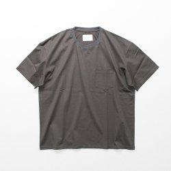 stein(シュタイン)/OVERSIZED POCKET TEE/Charcoal