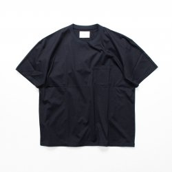 stein(シュタイン)/OVERSIZED POCKET TEE/Dark navy