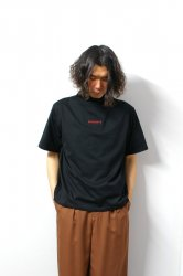 ETHOSENS(エトセンス)/High neck T shirt/Black