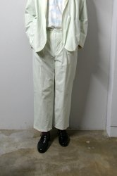 URU(ウル)/1TUCK PANTS/L.Mint