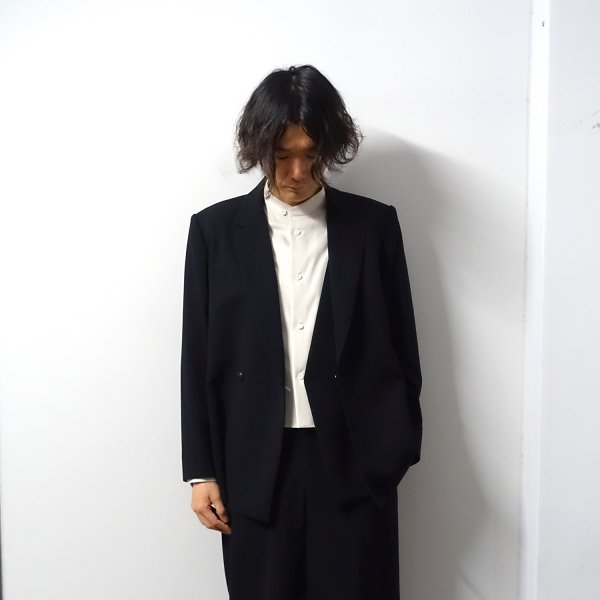 ETHOSENS(エトセンス)/Layer jacket/Black