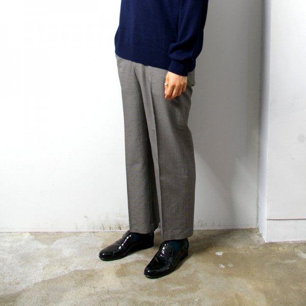 URU(ウル)/STRAIGHT PANTS/B.Gray