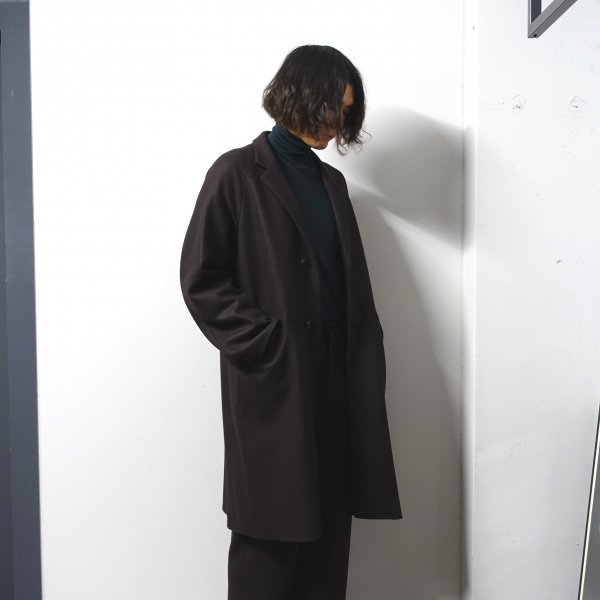 <img class='new_mark_img1' src='https://img.shop-pro.jp/img/new/icons13.gif' style='border:none;display:inline;margin:0px;padding:0px;width:auto;' />URU(ウル)/OVER COAT/Brown