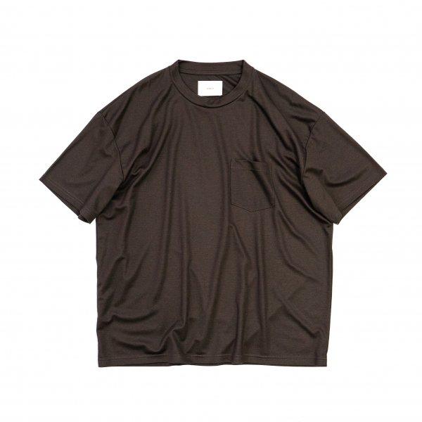 stein(シュタイン)/OVERSIZED POCKET TEE (LYOCELL)/Dark brown
