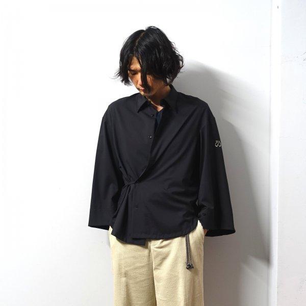 <img class='new_mark_img1' src='https://img.shop-pro.jp/img/new/icons13.gif' style='border:none;display:inline;margin:0px;padding:0px;width:auto;' />ETHOSENS(エトセンス)/Japanese shirt/Iron black