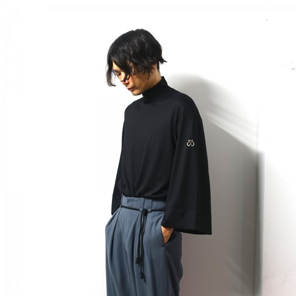 <img class='new_mark_img1' src='https://img.shop-pro.jp/img/new/icons13.gif' style='border:none;display:inline;margin:0px;padding:0px;width:auto;' />ETHOSENS(エトセンス)/Japanese knit/Black
