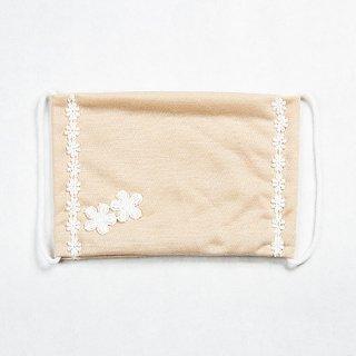 UVカット小花エレガンスマスク