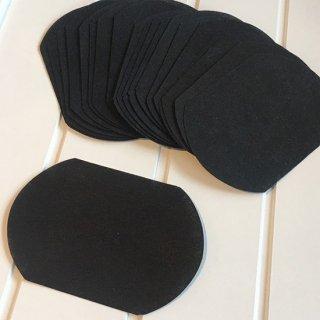 マスク用使い捨てフィルター〈インナーマスク〉ブラック 20枚入り
