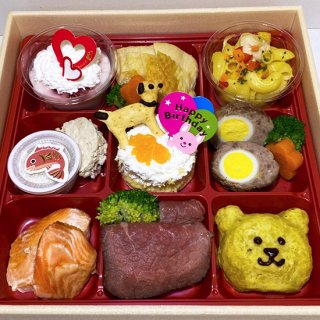 chikata to Luludoll×ポワポワ コラボ 「お誕生日お喜びお祝い御膳」