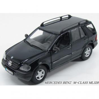MERCEDES BENZ M-CLASS ML320 1/24 Maisto/DARK GREEN MET/ミニカー/ダイキャストカー