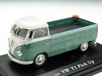 フォルクスワーゲン T1 ピックアップ グリーン 1/43 Cararama VW ミニカー