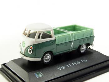 フォルクスワーゲン T1 ピックアップ グリーン 1/72 Cararama VW ミニカー
