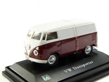 フォルクスワーゲン T1 バン バーガンディ 1/72 Cararama VW ミニカー