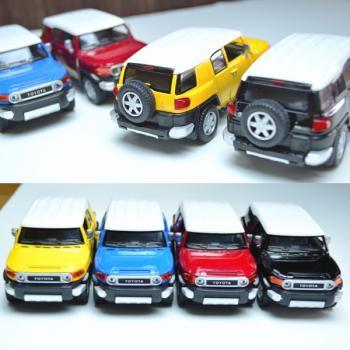 【Kinsmart】 1/36  トヨタ FJクルーザー//TOYOTA FJ CRUISER 4色セット