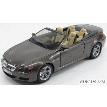 BMW M6 CONVERTIBLE 1/18 Maisto BMW 6シリーズ ミニカー/ダイキャストカー