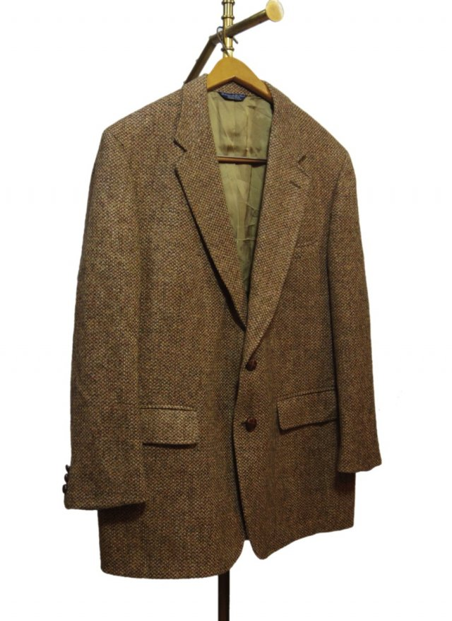 80's USA Harris Tweed Vintage Jacket #556<img class='new_mark_img2' src='https://img.shop-pro.jp/img/new/icons8.gif' style='border:none;display:inline;margin:0px;padding:0px;width:auto;' />