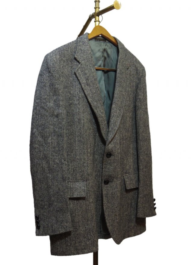 80's USA Harris Tweed Vintage Jacket #502<img class='new_mark_img2' src='https://img.shop-pro.jp/img/new/icons8.gif' style='border:none;display:inline;margin:0px;padding:0px;width:auto;' />