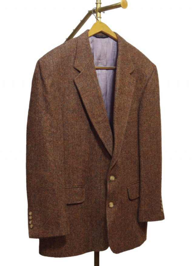 80's USA Harris Tweed Vintage Jacket      HTJ-0052<img class='new_mark_img2' src='https://img.shop-pro.jp/img/new/icons8.gif' style='border:none;display:inline;margin:0px;padding:0px;width:auto;' />
