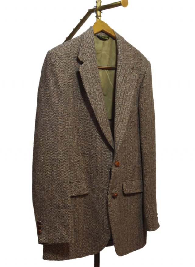 80's USA Harris Tweed Vintage Jacket #10<img class='new_mark_img2' src='//img.shop-pro.jp/img/new/icons8.gif' style='border:none;display:inline;margin:0px;padding:0px;width:auto;' />