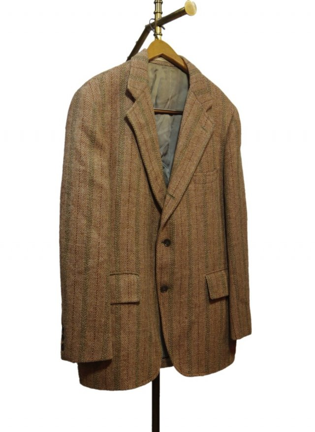 80's USA Harris Tweed Vintage Jacket #450<img class='new_mark_img2' src='https://img.shop-pro.jp/img/new/icons8.gif' style='border:none;display:inline;margin:0px;padding:0px;width:auto;' />