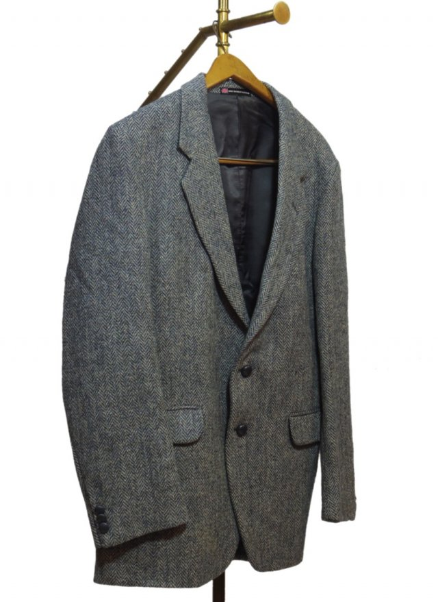 80's UK Harris Tweed Vintage Jacket #498<img class='new_mark_img2' src='//img.shop-pro.jp/img/new/icons8.gif' style='border:none;display:inline;margin:0px;padding:0px;width:auto;' />
