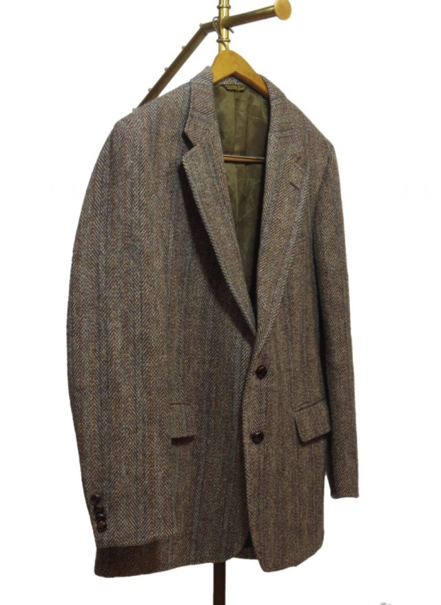 80's USA Harris Tweed Vintage Jacket #540<img class='new_mark_img2' src='https://img.shop-pro.jp/img/new/icons8.gif' style='border:none;display:inline;margin:0px;padding:0px;width:auto;' />