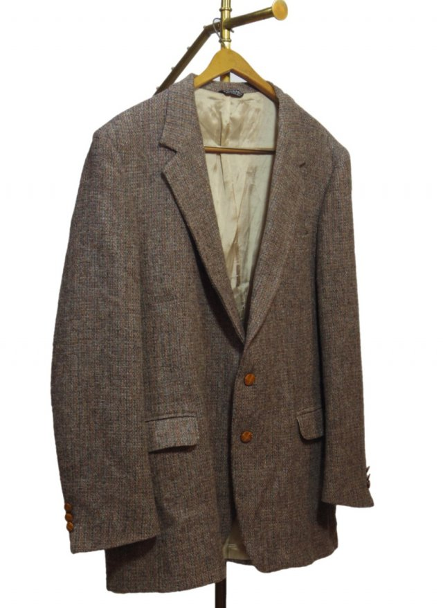 80's USA Harris Tweed Vintage Jacket<img class='new_mark_img2' src='https://img.shop-pro.jp/img/new/icons8.gif' style='border:none;display:inline;margin:0px;padding:0px;width:auto;' />