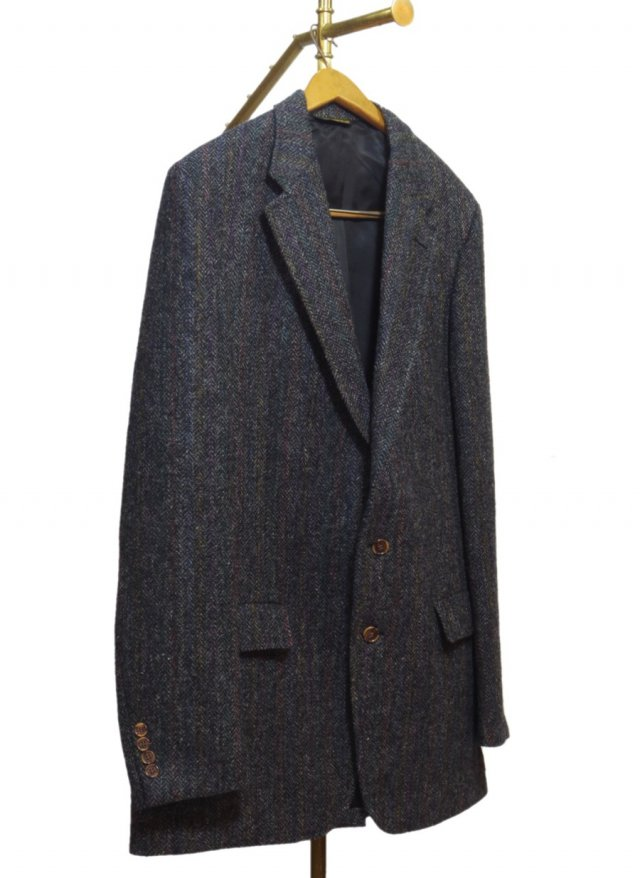 80's USA Harris Tweed Vintage Jacket #488<img class='new_mark_img2' src='https://img.shop-pro.jp/img/new/icons8.gif' style='border:none;display:inline;margin:0px;padding:0px;width:auto;' />