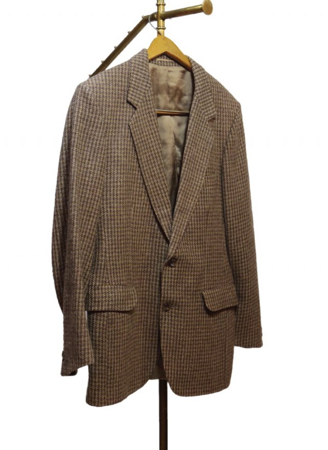 80's IRL Tweed Check Vintage Jacket #45<img class='new_mark_img2' src='//img.shop-pro.jp/img/new/icons8.gif' style='border:none;display:inline;margin:0px;padding:0px;width:auto;' />