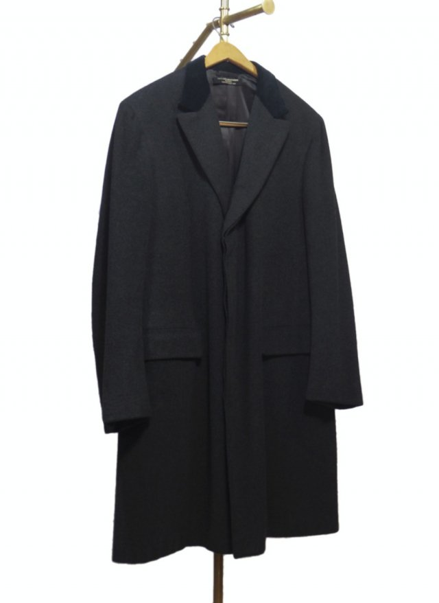 70's USA BROOKS BROTHERS Vintage Chesterfield Wool Coat #112<img class='new_mark_img2' src='https://img.shop-pro.jp/img/new/icons8.gif' style='border:none;display:inline;margin:0px;padding:0px;width:auto;' />