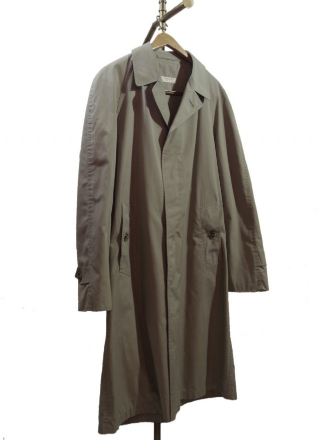 70's USA BROOKS BROTHERS Vintage balmacaan Coat <img class='new_mark_img2' src='//img.shop-pro.jp/img/new/icons8.gif' style='border:none;display:inline;margin:0px;padding:0px;width:auto;' />