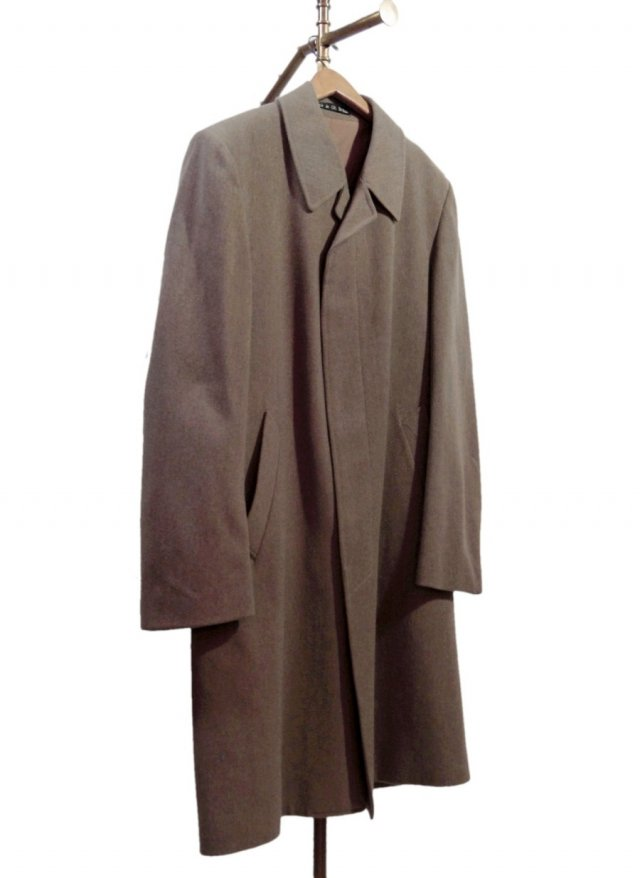70's UK Dunn & Co. Vintage Tweed Balmacaan Coat #603<img class='new_mark_img2' src='//img.shop-pro.jp/img/new/icons8.gif' style='border:none;display:inline;margin:0px;padding:0px;width:auto;' />