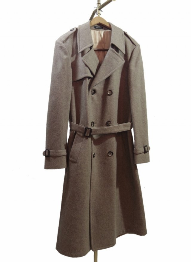 70'S USA Vintage Heavy Wool Trench Coat #103<img class='new_mark_img2' src='https://img.shop-pro.jp/img/new/icons8.gif' style='border:none;display:inline;margin:0px;padding:0px;width:auto;' />