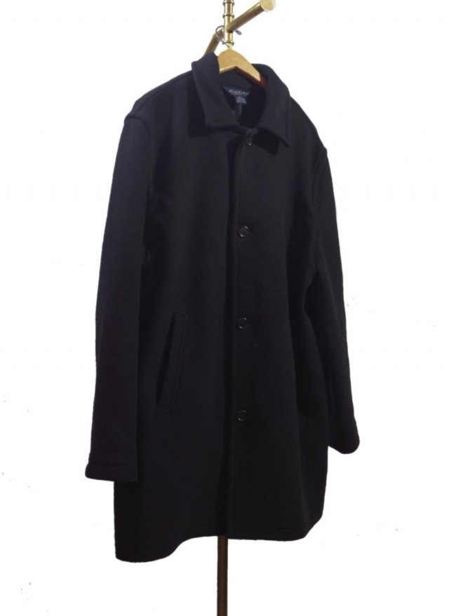 90's BROOKS BROTHERS Vintage Wool Coat #111<img class='new_mark_img2' src='https://img.shop-pro.jp/img/new/icons8.gif' style='border:none;display:inline;margin:0px;padding:0px;width:auto;' />