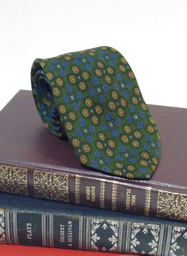 Vintage Wool Neck Tie Botany<img class='new_mark_img2' src='https://img.shop-pro.jp/img/new/icons8.gif' style='border:none;display:inline;margin:0px;padding:0px;width:auto;' />