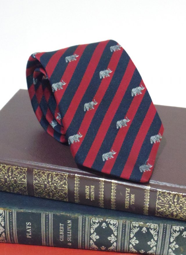 Vintage USA Royal Crest Neck Tie SCHRETER<img class='new_mark_img2' src='https://img.shop-pro.jp/img/new/icons8.gif' style='border:none;display:inline;margin:0px;padding:0px;width:auto;' />