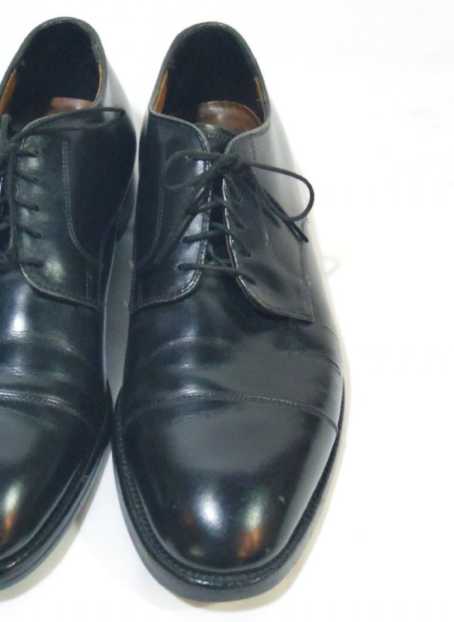 Vintage USA【BROOKS BROTHERS】Straight tip Leather Shoes<img class='new_mark_img2' src='//img.shop-pro.jp/img/new/icons8.gif' style='border:none;display:inline;margin:0px;padding:0px;width:auto;' />
