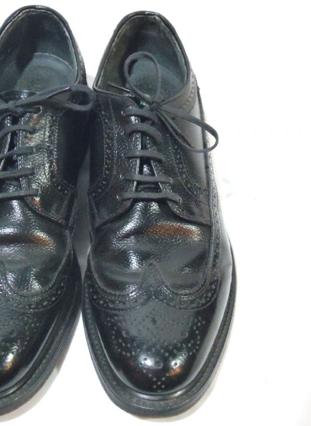 Vintage 60's USA【Hanover】Long Wing Tip Leather Shoes<img class='new_mark_img2' src='https://img.shop-pro.jp/img/new/icons8.gif' style='border:none;display:inline;margin:0px;padding:0px;width:auto;' />