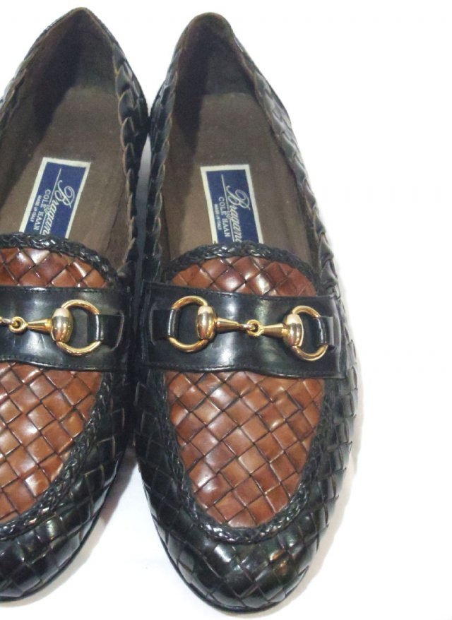 Vintage 90's ITA 【COLE HAAN Bragano】 Bit loafers Leather Shoes     NO.639<img class='new_mark_img2' src='https://img.shop-pro.jp/img/new/icons8.gif' style='border:none;display:inline;margin:0px;padding:0px;width:auto;' />