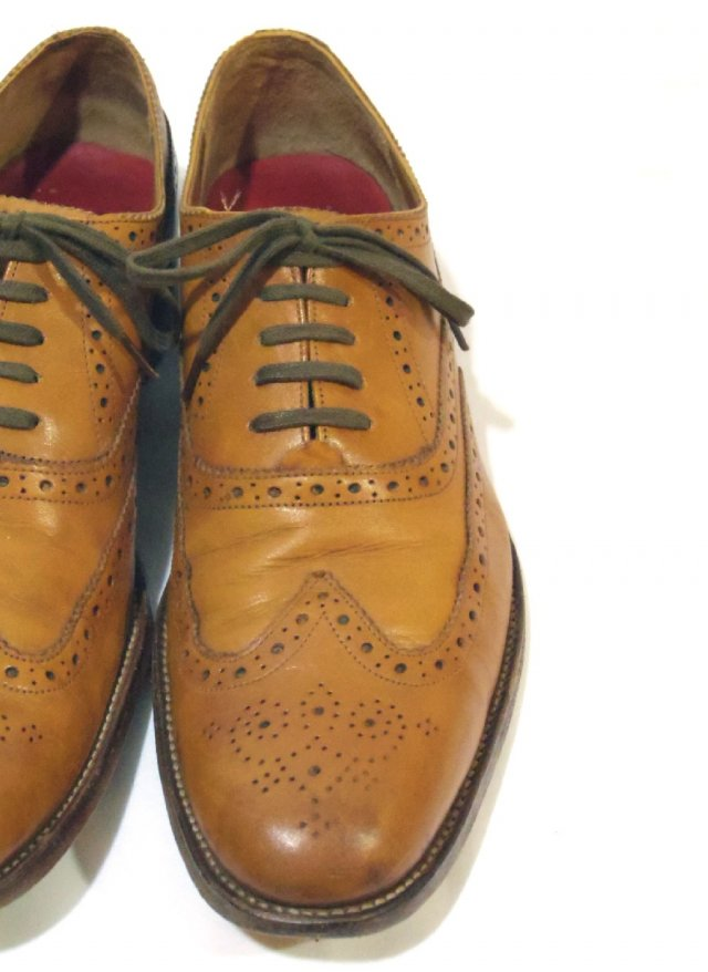 Vintage UK【GRENSON 】 Wing Tip Leather Shoes<img class='new_mark_img2' src='//img.shop-pro.jp/img/new/icons8.gif' style='border:none;display:inline;margin:0px;padding:0px;width:auto;' />