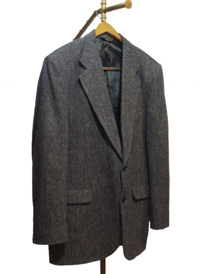 80's USA Harris Tweed Vintage Jacket <img class='new_mark_img2' src='//img.shop-pro.jp/img/new/icons8.gif' style='border:none;display:inline;margin:0px;padding:0px;width:auto;' />