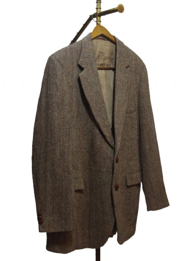 80's USA Harris Tweed Vintage Jacket <img class='new_mark_img2' src='https://img.shop-pro.jp/img/new/icons8.gif' style='border:none;display:inline;margin:0px;padding:0px;width:auto;' />