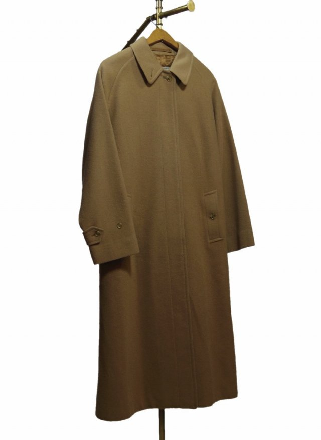 80's UK Lady's BURBERRYS Vintage Wool & Camelhair Coat #473<img class='new_mark_img2' src='https://img.shop-pro.jp/img/new/icons8.gif' style='border:none;display:inline;margin:0px;padding:0px;width:auto;' />
