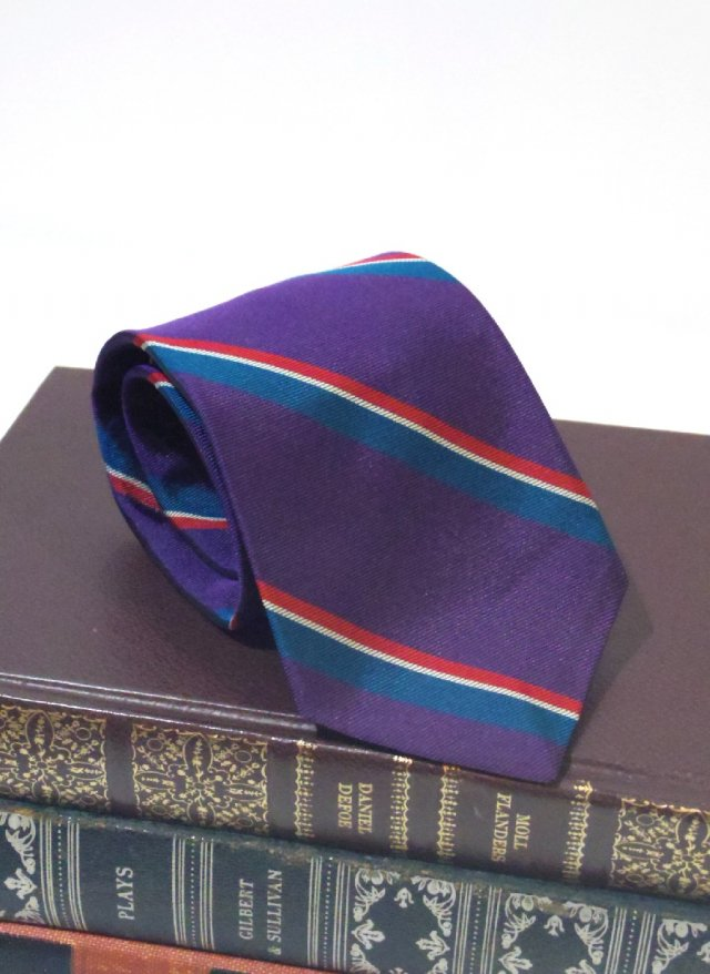 Vintage USA Rep Stripe Neck Tie adrian<img class='new_mark_img2' src='https://img.shop-pro.jp/img/new/icons8.gif' style='border:none;display:inline;margin:0px;padding:0px;width:auto;' />