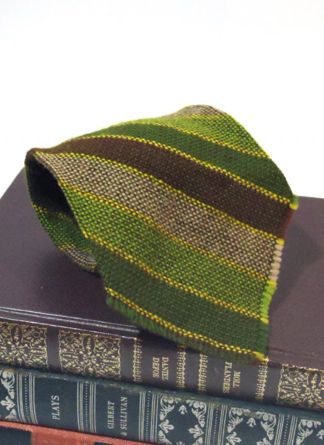 Vintage USA Rep Stripe Wool Neck Tie <img class='new_mark_img2' src='https://img.shop-pro.jp/img/new/icons8.gif' style='border:none;display:inline;margin:0px;padding:0px;width:auto;' />