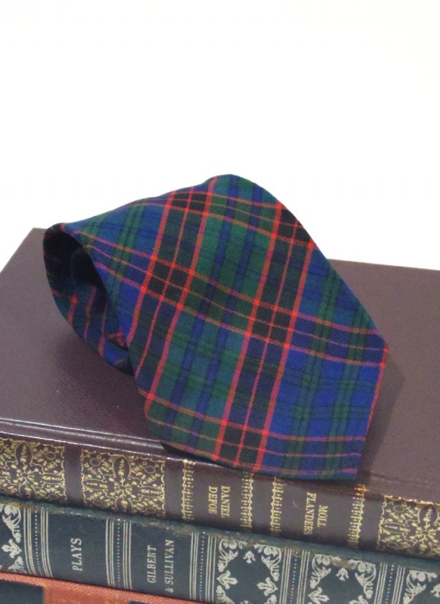 Vintage Wembley Check Neck Tie <img class='new_mark_img2' src='https://img.shop-pro.jp/img/new/icons8.gif' style='border:none;display:inline;margin:0px;padding:0px;width:auto;' />