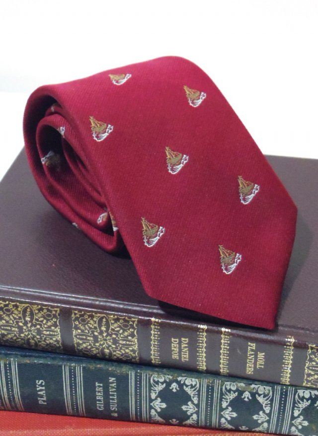 Vintage ITA Crest Neck Tie Smith's<img class='new_mark_img2' src='https://img.shop-pro.jp/img/new/icons8.gif' style='border:none;display:inline;margin:0px;padding:0px;width:auto;' />