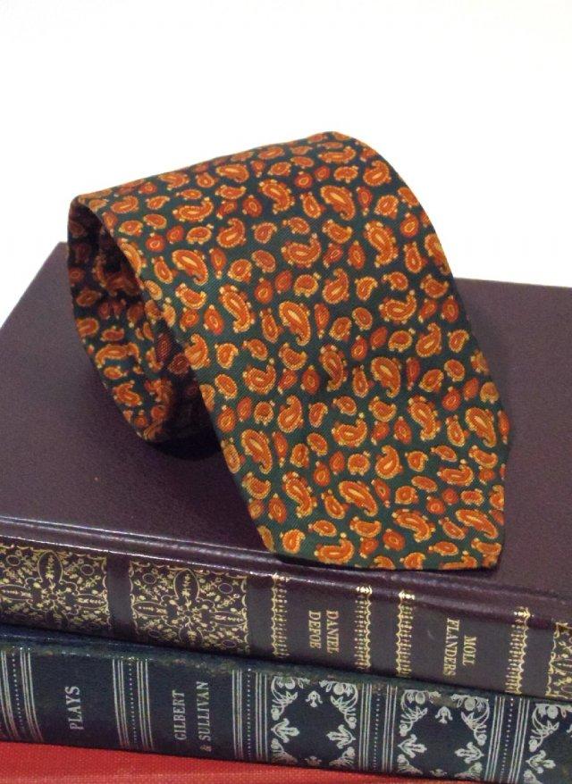 Vintage ITA Paisley Neck Tie BANCROFT New York<img class='new_mark_img2' src='https://img.shop-pro.jp/img/new/icons8.gif' style='border:none;display:inline;margin:0px;padding:0px;width:auto;' />