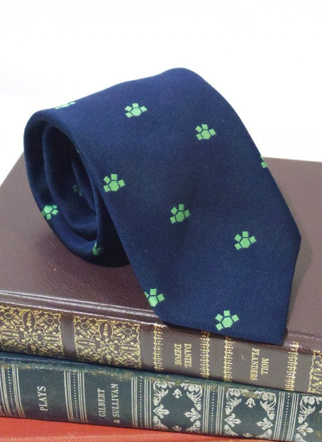 Vintage Crest Neck Tie The President<img class='new_mark_img2' src='https://img.shop-pro.jp/img/new/icons8.gif' style='border:none;display:inline;margin:0px;padding:0px;width:auto;' />