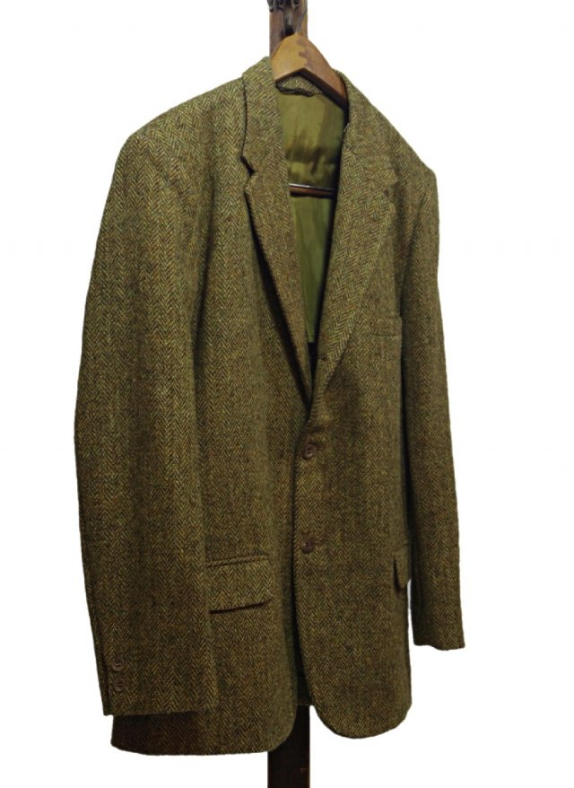 70's USA Harris Tweed × Sears Vintage 3 buttons Jacket #513<img class='new_mark_img2' src='//img.shop-pro.jp/img/new/icons8.gif' style='border:none;display:inline;margin:0px;padding:0px;width:auto;' />